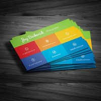 Single Side Custom Visiting Card