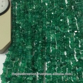 Natural Green Onyx Rough Uncut Chips Handmade Beads Wholesale