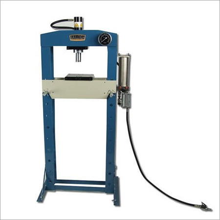 Semi-Automatic Hydraulic Press