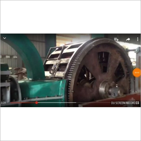 Double Rotary Machine With Mixture & Convyre Belt