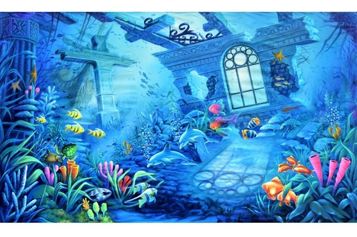 Underwater Stage Backdrops