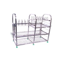 Stainless Steel Square Pipe Kitchen Rack