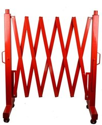 Expandable Metal Road Barrier