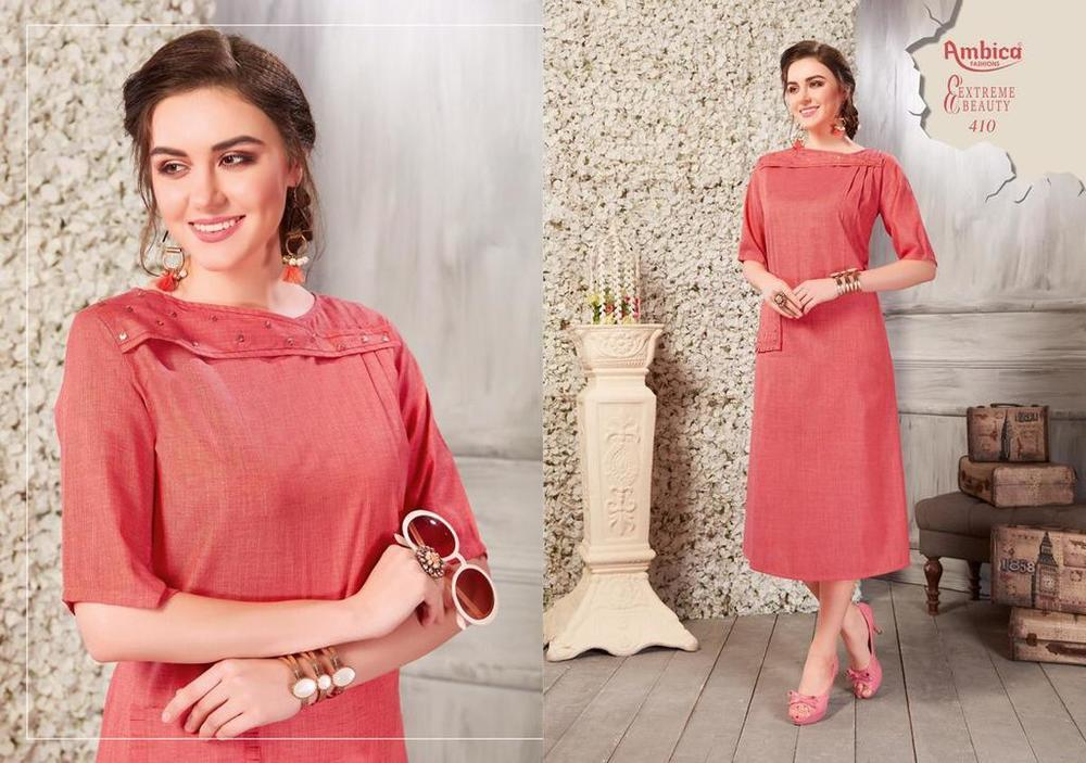 Plain Cotton Kurtis