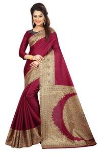 Kalamkari Silk Saree