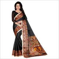 Kalamkari Silk Fancy Saree