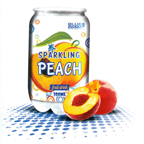 300 ml Canned Peach Fruit Drink