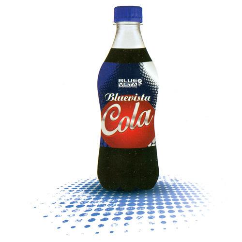 Blue Vista Cola Soft Drink
