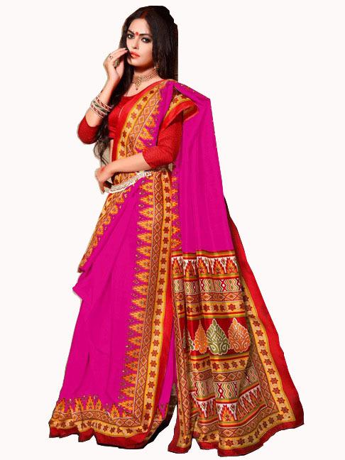 Fancy Bhagalpuri Printed Sarees