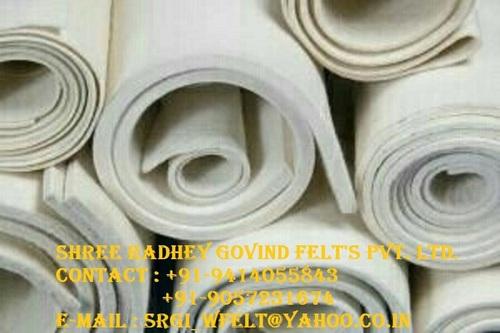 Woolen felt rolls