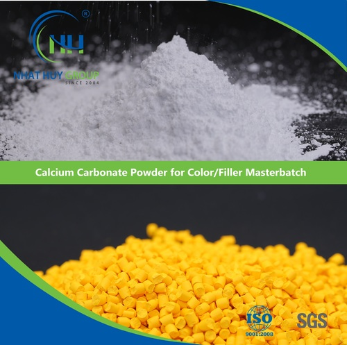Calcium Carbonate Powder for Color/Filler Masterbatch