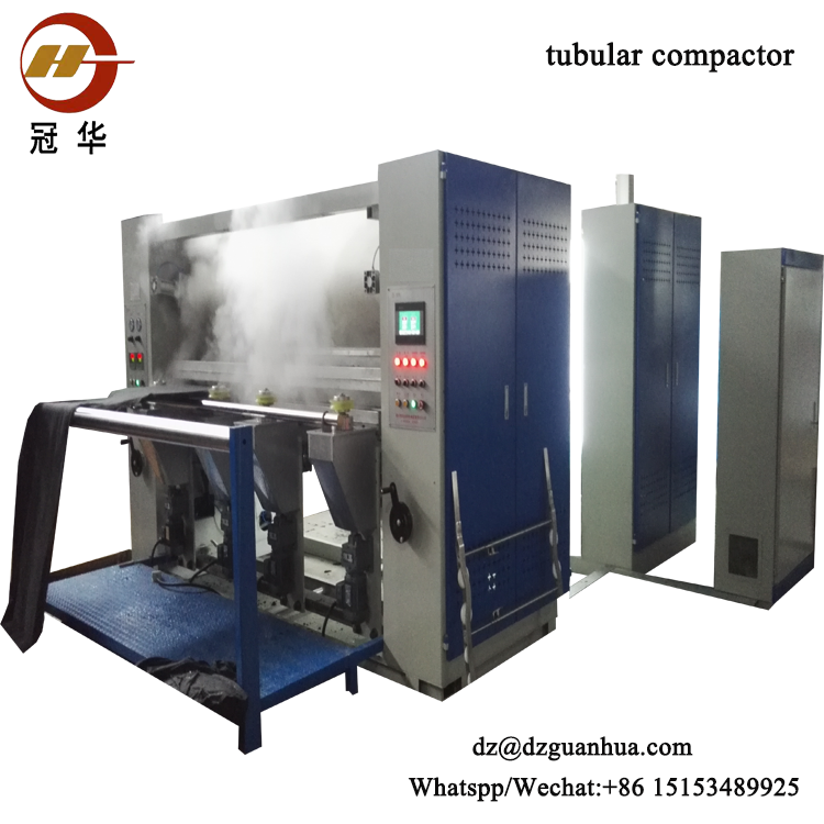 Tubular Fabric Calendering Machine