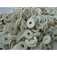White Felt washers