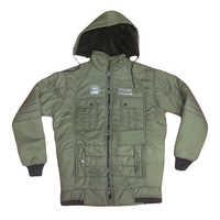 Boys hooded full Sleeve Winter Jacket