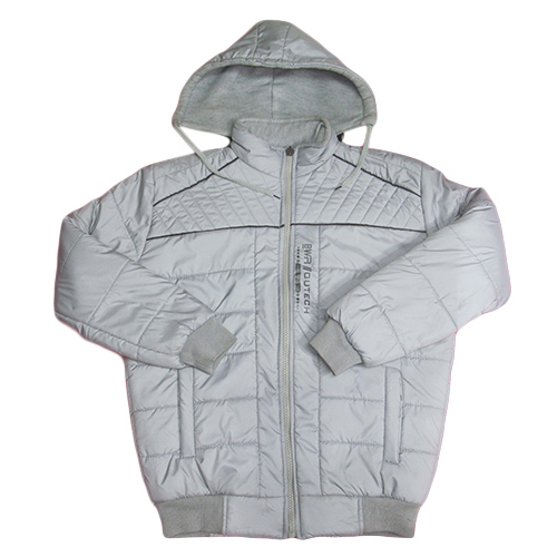Kids White full Sleeve Winter Jacket