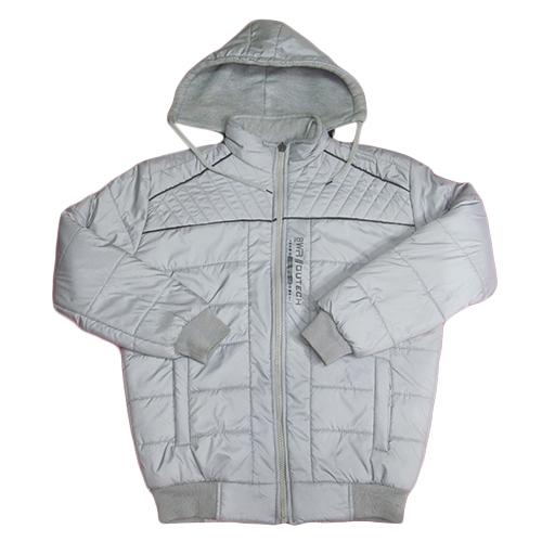Kids White full Sleeve Winter Jacket
