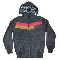 Boys Plain Winter Full Sleeves Jacket