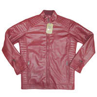 Winter full sleeve artificial leather Jacket