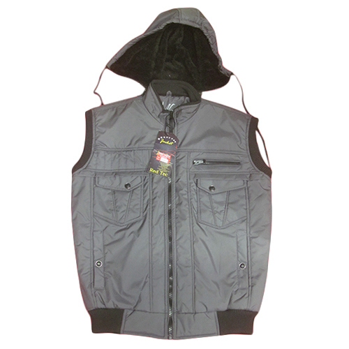Casual sleeveless winter jacket