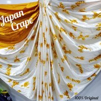 Attractive Japan Crepe Saree