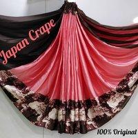 Attractive Japan Crepe Saree