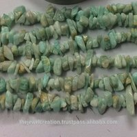 Natural Amazonite Rough Uncut Chips Beads Wholesale