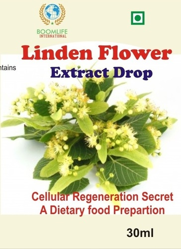 Linden flower extract drops