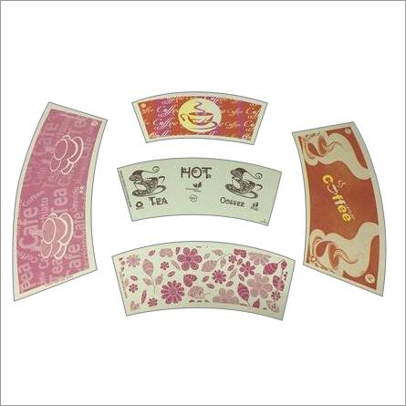 Designer Printed Paper Cup Blank