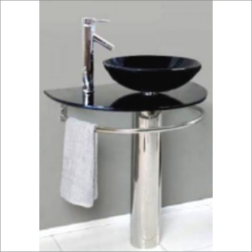 Black Color Wash Basin Stand