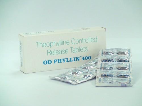 Uniphyl, Theolair, Slo-Bid, OD Phyllin