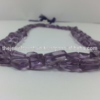 Natural Amethyst Crystal Tumble Nuggets Beads
