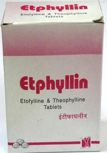Etophylline & Theophylline Tablets