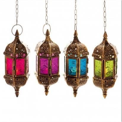 Hanging Moroccan Lamp