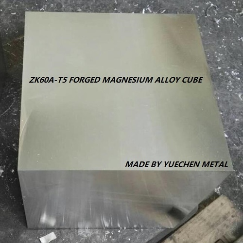 Forged Magnesium Alloy Block