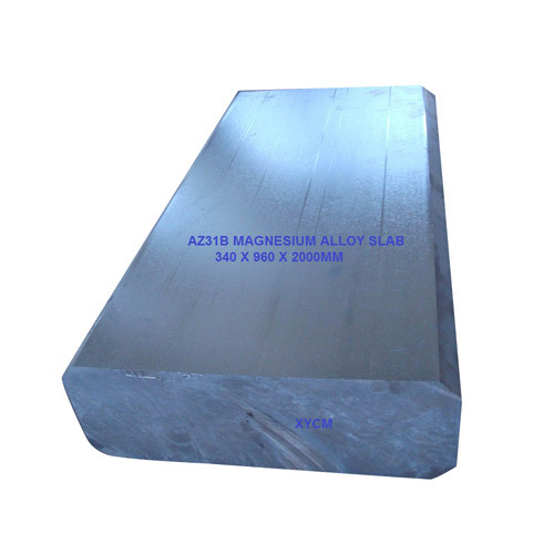 Magnesium Cast Slab Billets