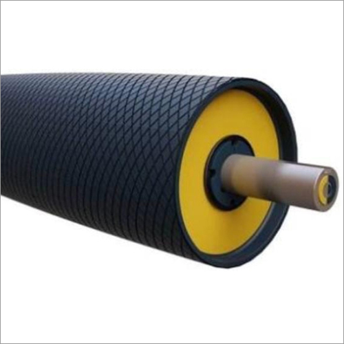 Over head pulley with Rubber Lagging sheet