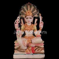 Marble Padmavati Statues