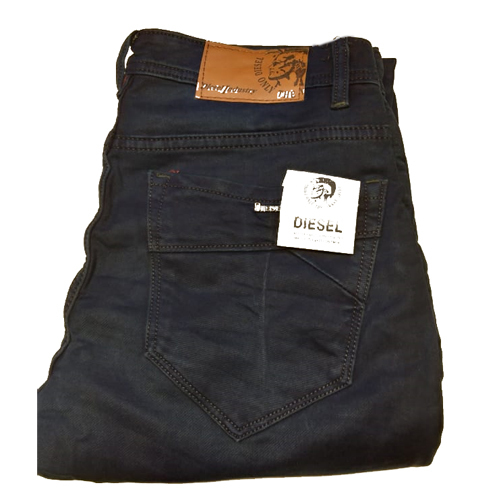Mens Plain Cotton Jeans