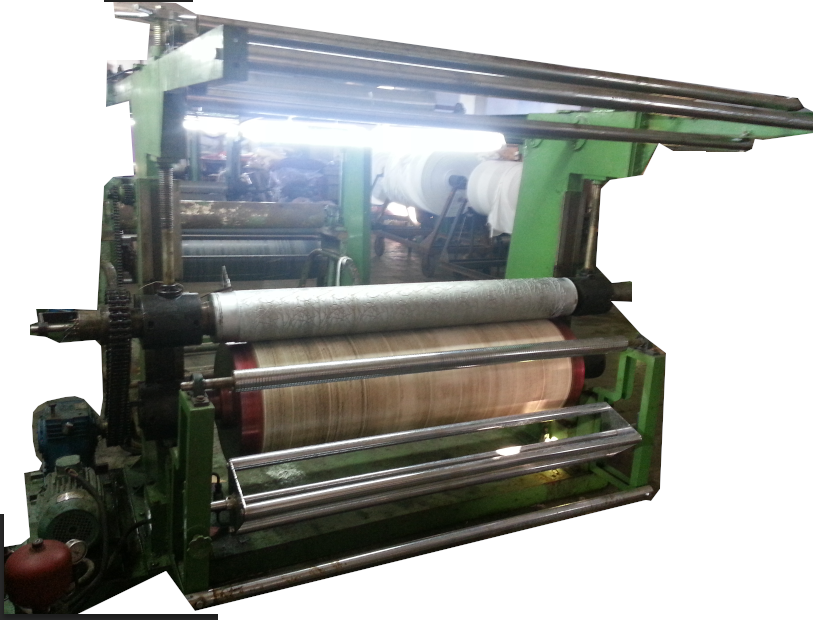 Fabric Male Female Embossing Machines