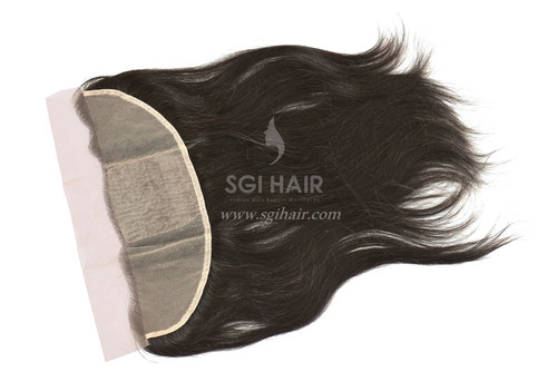 Temple Hair Frontal Closure