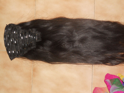 Temple Hair Clip In Hair Extensions