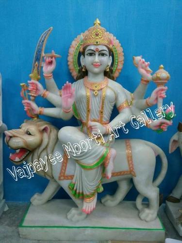 Marble Durga Murti