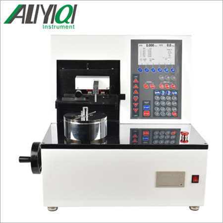 Automatic torsion spring testing machine