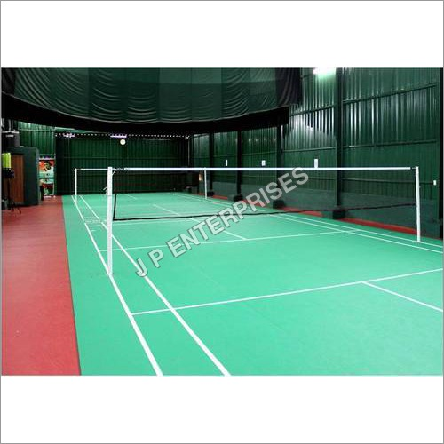Fixed Badminton Pole