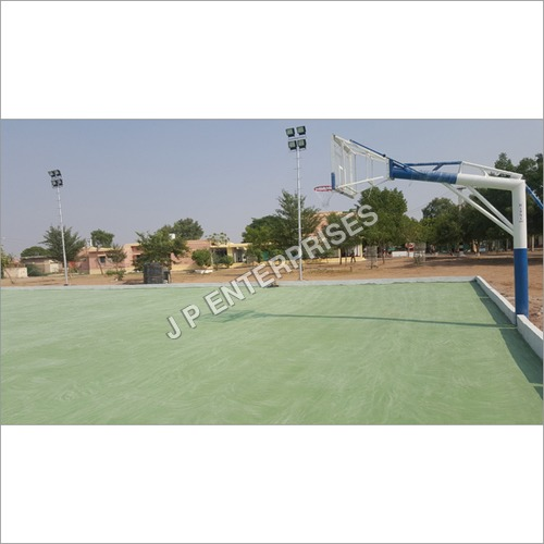 Basketball Goal Pole