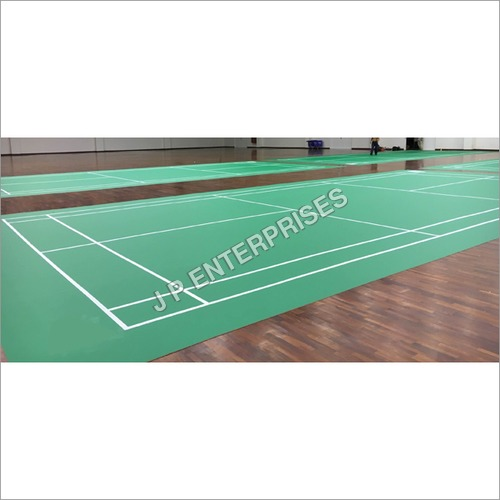 Pvc Badminton Indoor Court Flooring