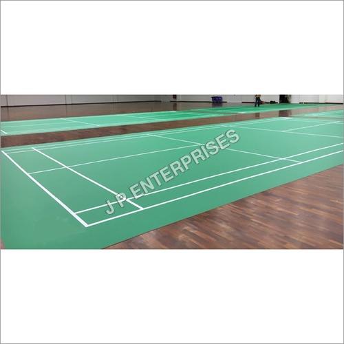 Pvc Badminton Indoor Court Flooring