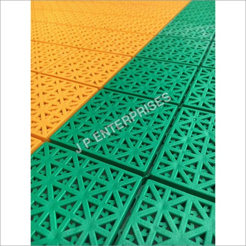 Interlocking Tile Flooring