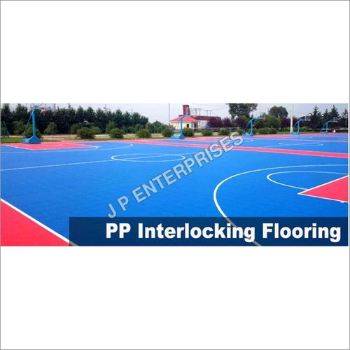 PP Interlock Tile Flooring