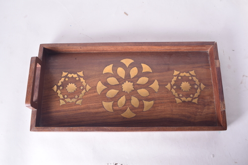 Crafted Wooden Tray